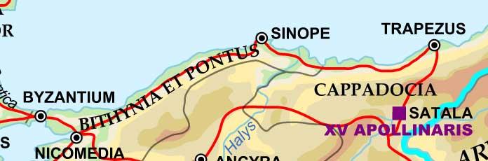 Römerstraße Istanbul - Trabzon1